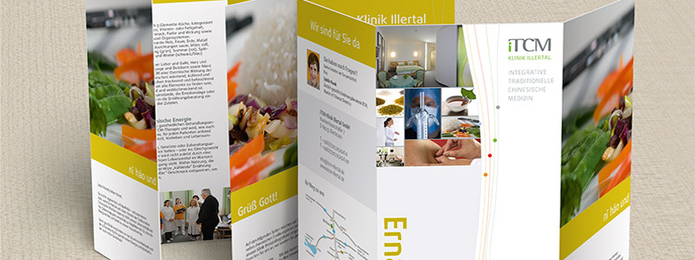 Themenflyer Ernährung | iTCM-Klinik Illertal