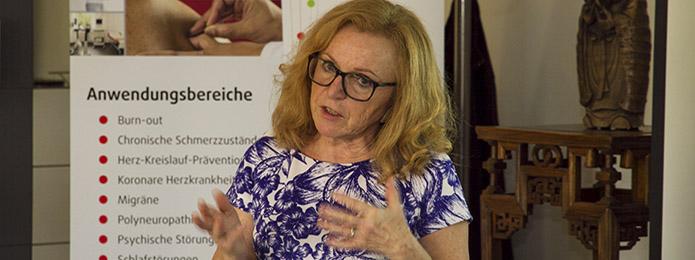 Ärtzliche Leiterin der iTCM-Klinik Fr. Dr. Ingrid Kurfürst