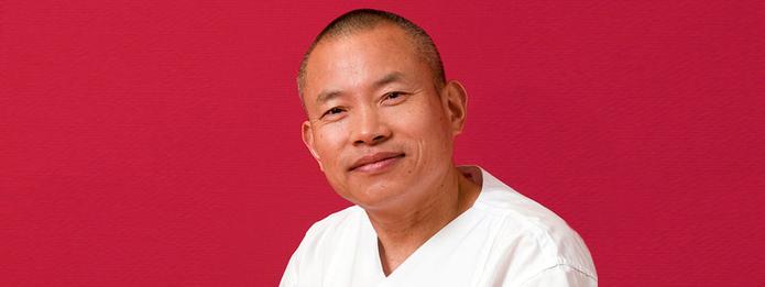 Herr chin. Prof. Qiu Yufeng