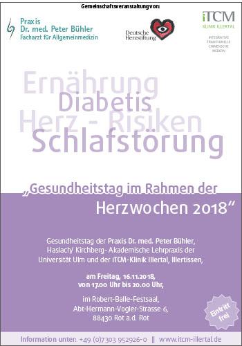 Gesundheitstag im Rahmen der Herzwochen 2018