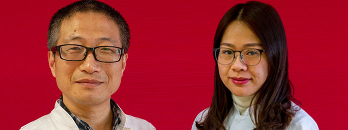 Herr chin. Dr. Guan, Huaquan und Frau chin. Dr. Mei, Linfengi